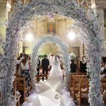 Gorgeous floral arches for wedding ceremony