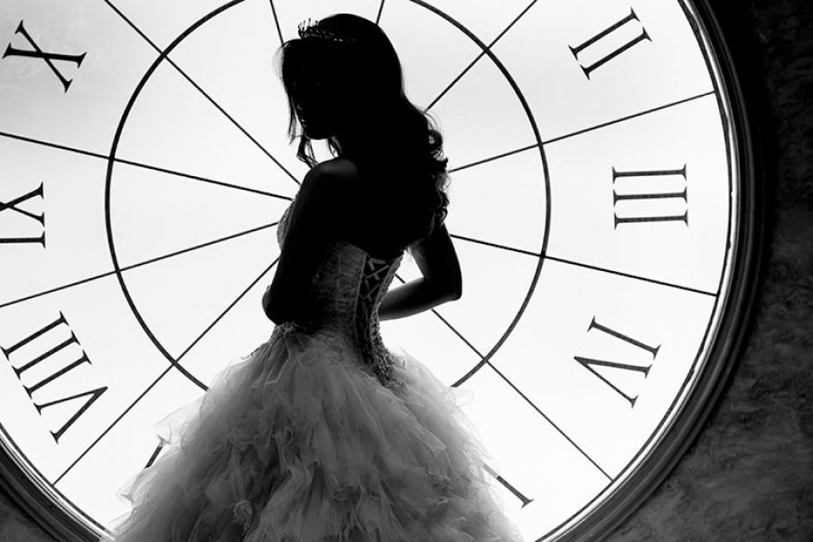 being a timely bride
