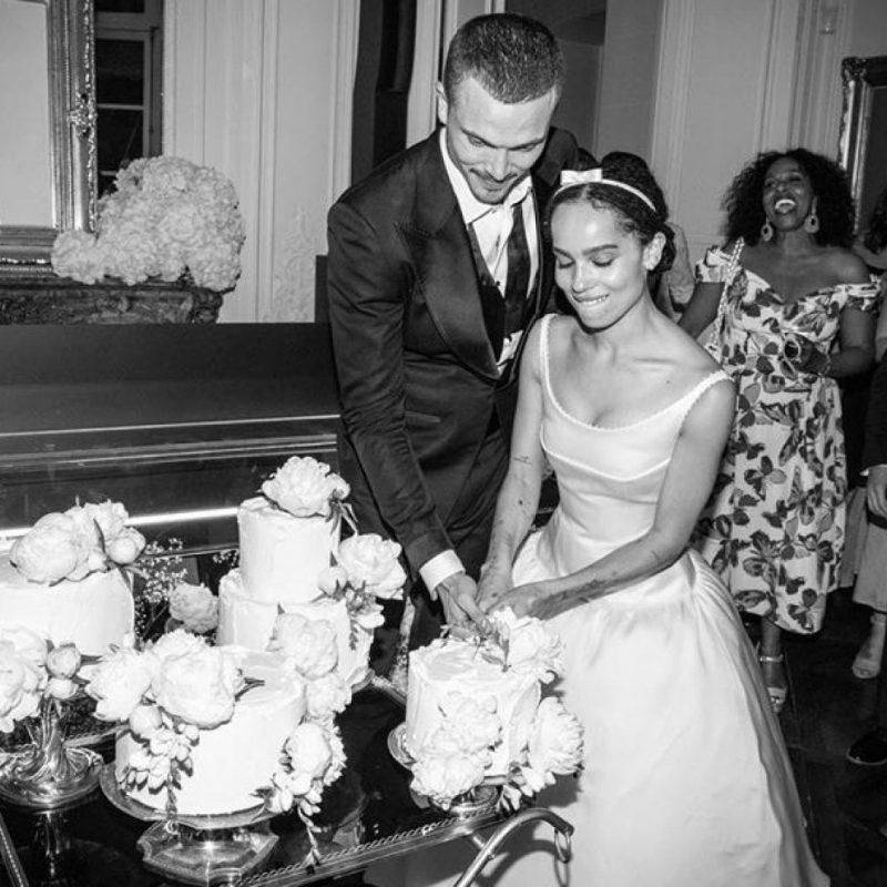 Zoe Kravitz Wedding Style